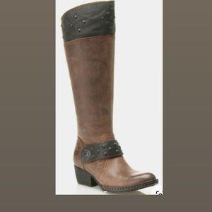 Born Pickett women knee leather boots